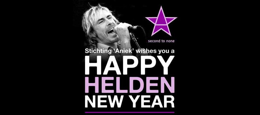 Happy Helden New Year met The Hudson Five ft. Chris Zegers!