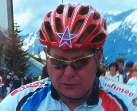 Daan Hendriksz fietst Alpe D'Huez