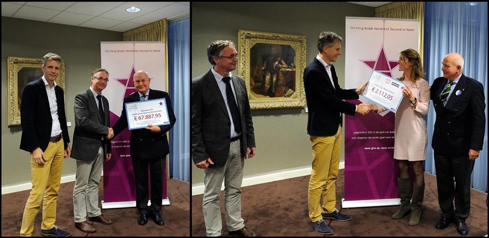 In 2013 doneert de stichting €70.000 aan AVL